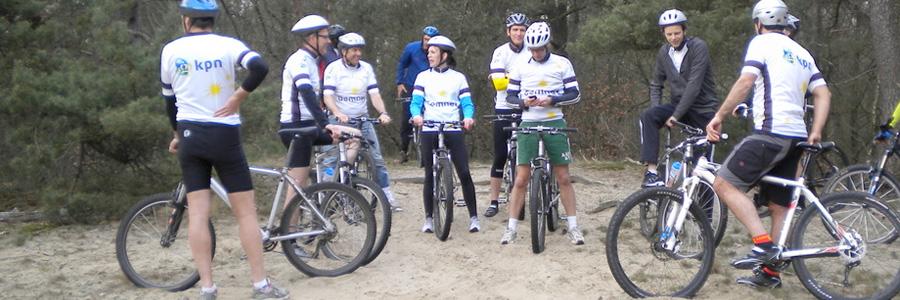 Mountainbiken met een gids