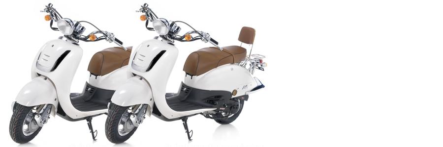 Retro scooter verhuur Veluwe