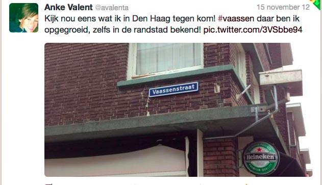 Vaassenstraat Den Haag