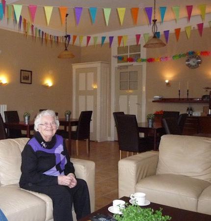 Oma wordt 80 jaar