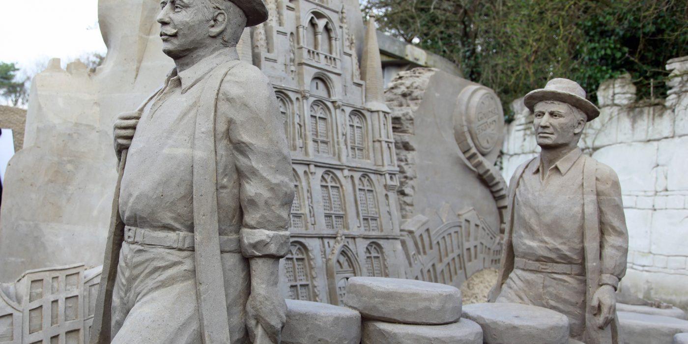 Zandsculpturen op de Veluwe 2017