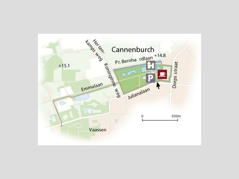 Wandelen bij kasteel de Cannenburch