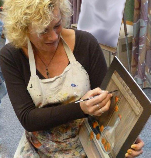 Schildervakantie Veluwe met Catherine Gathier