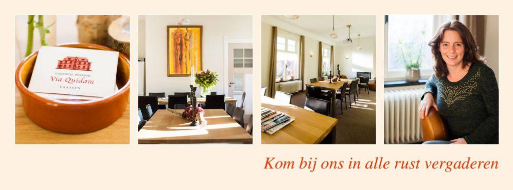Vergaderen Apeldoorn (bij A50 en A1)