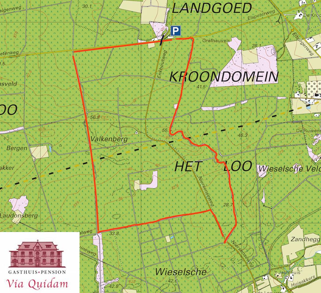 Wandelroute Veluwe 7 km