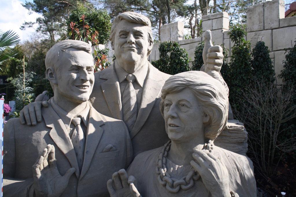 Zandsculpturen Veluwe 2019