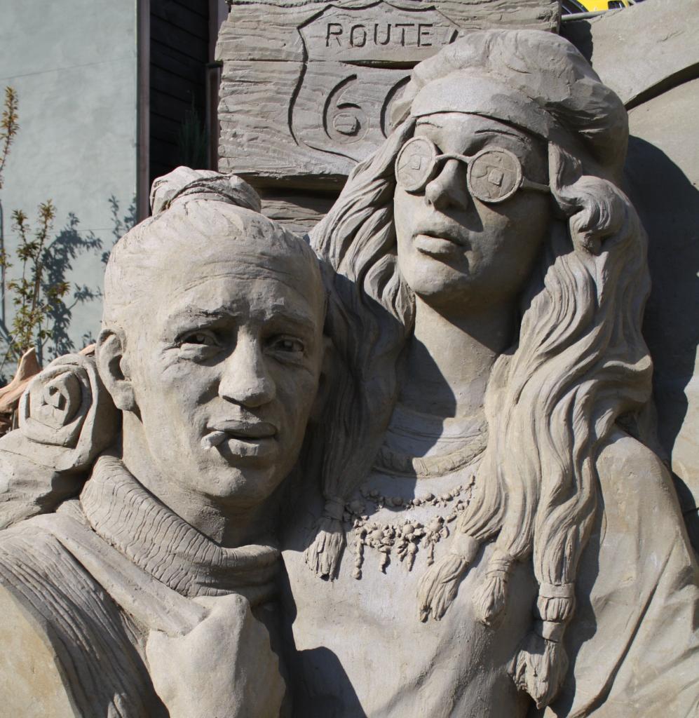 Zandsculpturen Veluwe Route 66