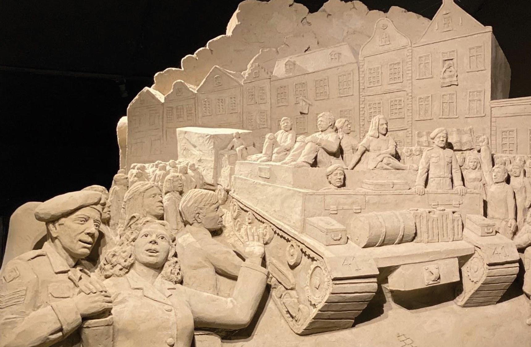 Zandsculpturen op de Veluwe 2020