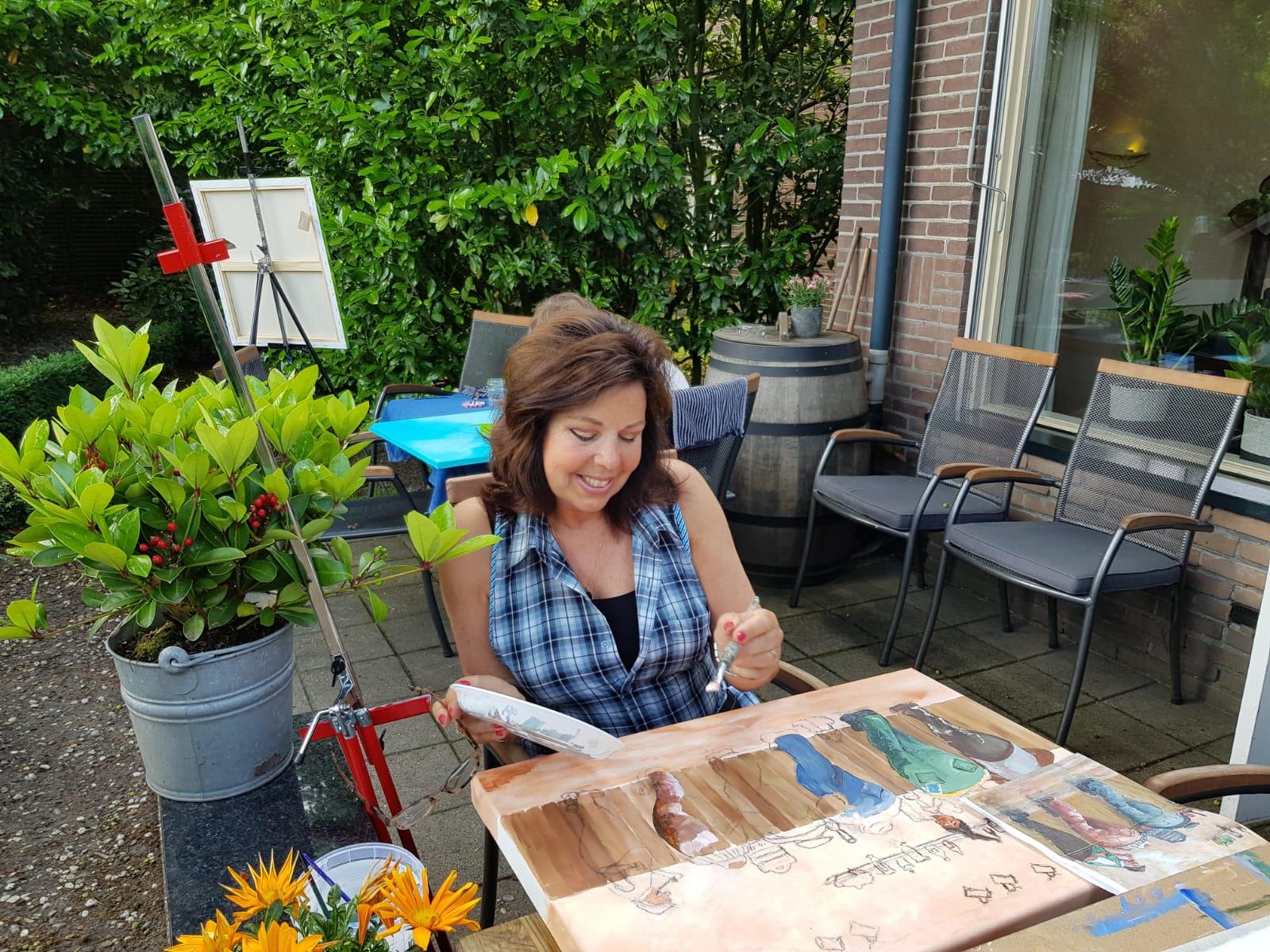 Schildervakantie met Marianne Eugster