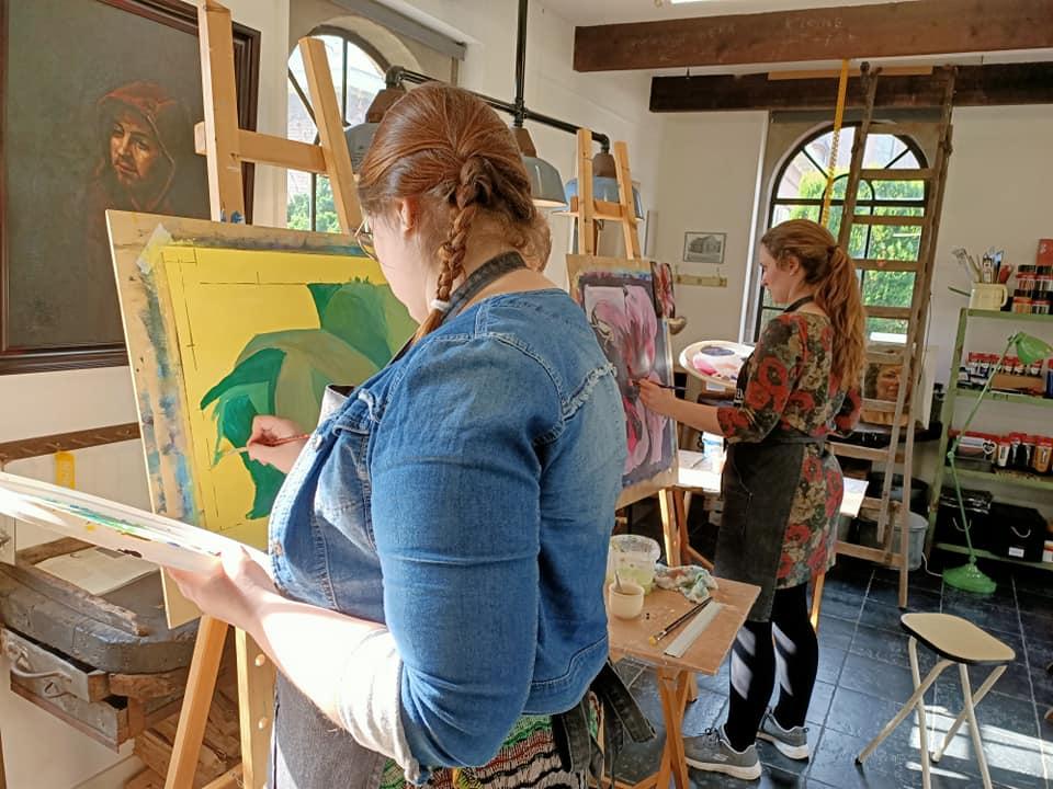 Prive schilderles Veluwe